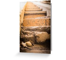 Steps to the shine Greeting Card
