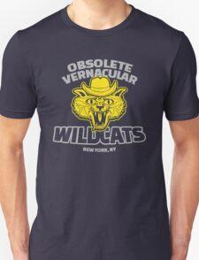 Obsolete Vernacular Wildcats (Royal Tenenbaums) T-Shirt