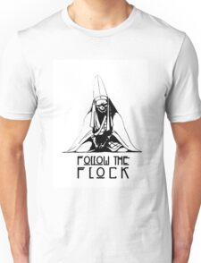 Follow The Flock Pope Tee Unisex T-Shirt