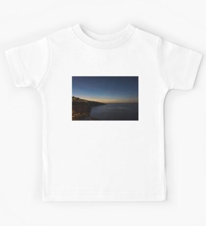 Blue Hour in Sorrento, Italy  Kids Tee
