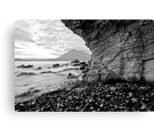 Elgol - Limestone weathering Canvas Print