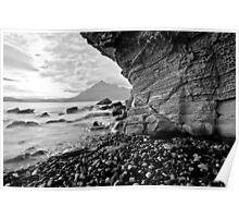 Elgol - Limestone weathering Poster