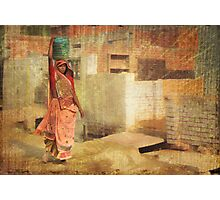 Daily Chores  Photographic Print