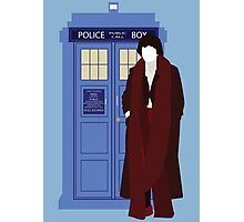 Four and the TARDIS (S18) Photographic Print