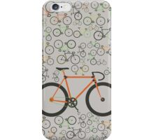Fixed gear bikes iPhone Case/Skin
