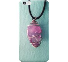 Amethyst Necklace iPhone Case/Skin