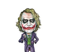 The Caricature Of Joker by pireX
