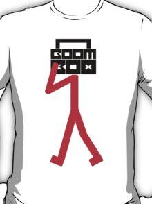 Boom box stick man T-Shirt