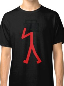 Boom box stick man Classic T-Shirt