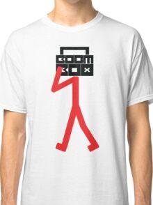 Boom box stick man Classic T-Shirt