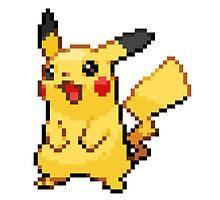 Pokemon - Pikachu Sprite by ffiorentini
