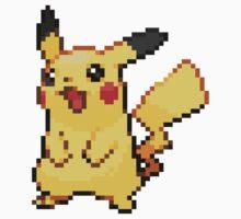 Pokemon - Pikachu Sprite Kids Clothes