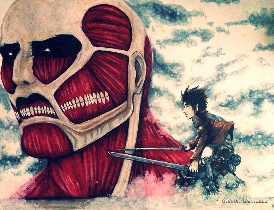 Attack on Titan by thesunrisemassa