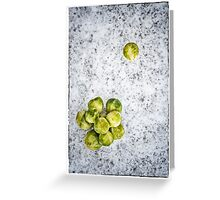 Sprouts Alternative Christmas Card Greeting Card
