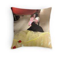 Funky Punky Princess Throw Pillow