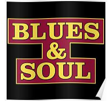 Blues & Soul Big Size Poster
