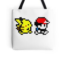 Pokemon Ash and Pikachu Tote Bag