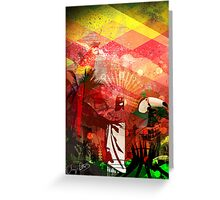 Brazil Rio Red Greeting Card