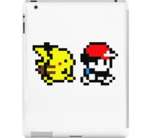 Pokemon Ash and Pikachu iPad Case/Skin
