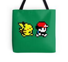 Pokemon Ash and Pikachu Tote Bag