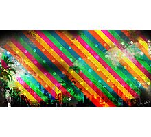 Brazil Rio Stripes Photographic Print