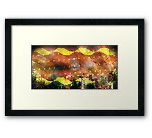 Brazil Rio Brown Framed Print