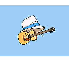 Fedora Crooner Photographic Print