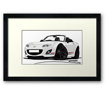 Mazda MX5 (Mk3) Kuro Edition Framed Print