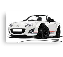 Mazda MX5 (Mk3) Kuro Edition Canvas Print
