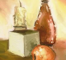 Warm still life by DivinusArt