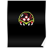 Metroid  8bit Poster