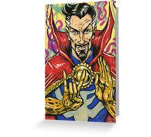 Dr. Strange, Sorcerer Supreme Greeting Card