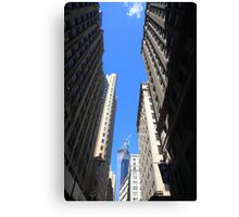 New York City Downtown Canvas Print