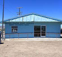 Post Office - Baker, California by Frank Romeo