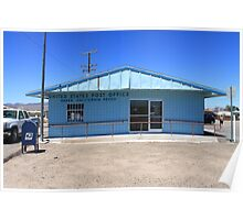 Post Office - Baker, California Poster