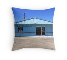 Post Office - Baker, California Throw Pillow