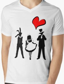 Time For Tea Group Mens V-Neck T-Shirt