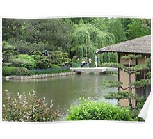 Tea House in Summer Poster