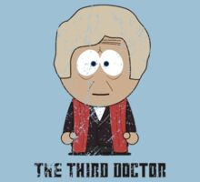 The Third Doctor - Doctor Who (South Park) by robotplunger