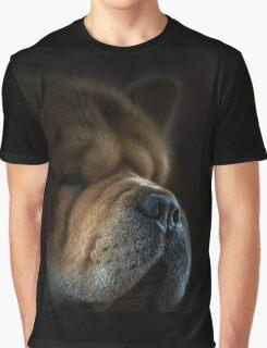 Chow-Chow portrait Graphic T-Shirt