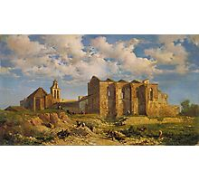 Ramon Marti i Alsina, Barcelona,  Ruins of the Church of the Holy Sepulchre Photographic Print