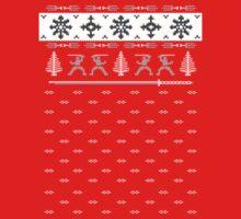 Silent Nigh-NINJA! Winter Sweater Kids Clothes