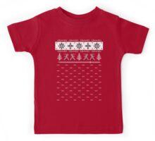 Silent Nigh-NINJA! Winter Sweater Kids Tee