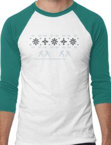Silent Nigh-NINJA! Winter Sweater Men's Baseball ¾ T-Shirt