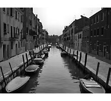 "Typical ""Street"" in Venice Photographic Print"