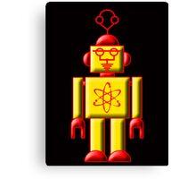 Atomic Robot Canvas Print