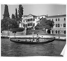 Gondola, Venice Poster