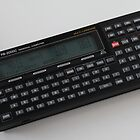 Casio PB2000C pocket computer by Keith Midson