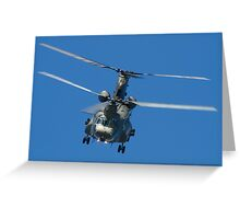 Chinook Greeting Card