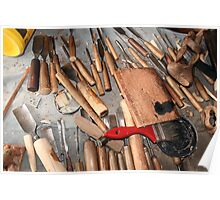 Woodworking Bench Poster